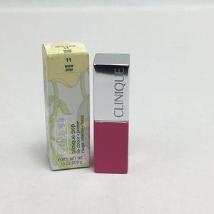 Clinique Pop Lip Colour 11 Wow Pop New Lipstick